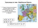 Особенности стран – Географические особенности стран Зарубежной Европы. Помогите ответить на этот вопрос, пожалуйста.