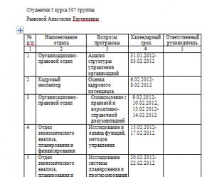Отчет по практике в школе для управленца 938