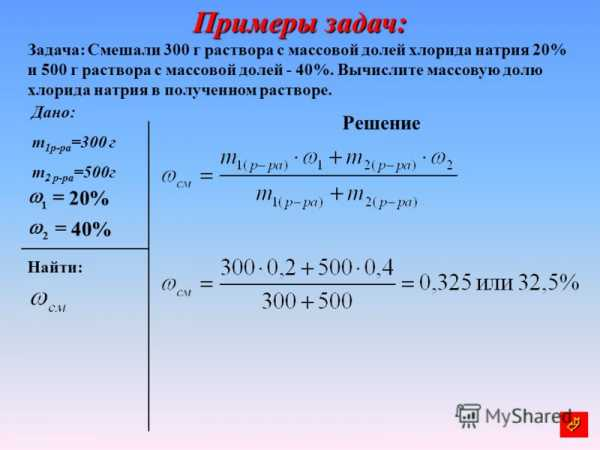 Химия 11 класс решение задач на растворы решение задач по математическому програм