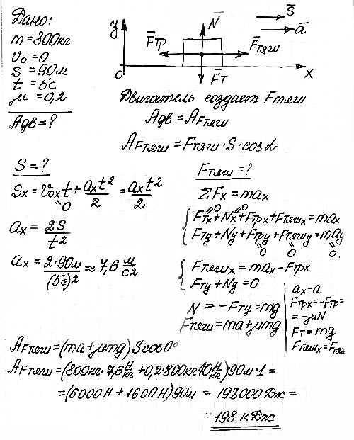 Решение задач физике 11 класса решение задачи в мастерской