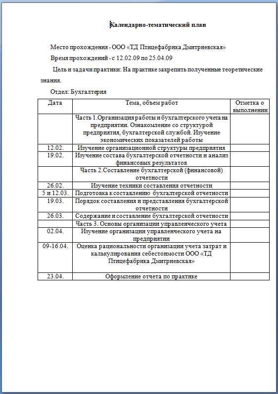 Финансы и кредит отчет о производственной практике 9400